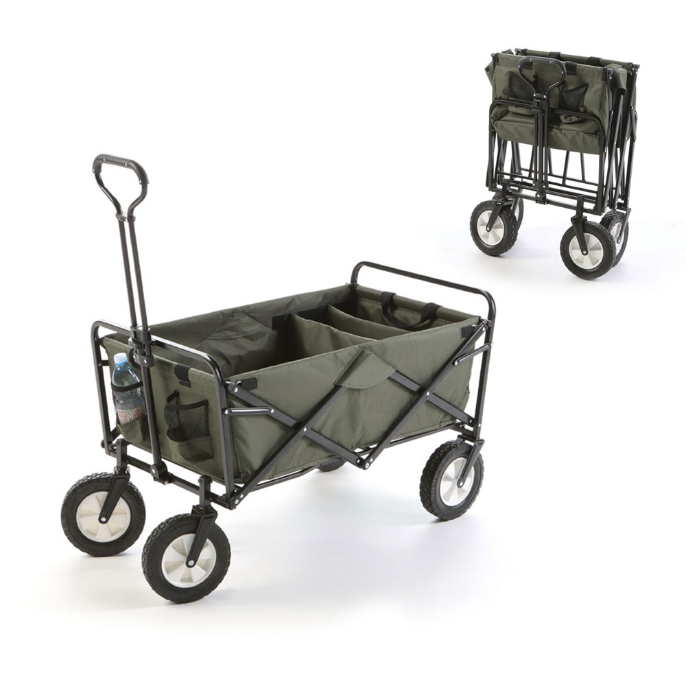 cabas 4 roues pliant jardin trolley chariot brouette transport 45kg 04927 ebay. Black Bedroom Furniture Sets. Home Design Ideas
