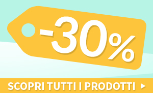 Ultimi pezzi Outlet 30%