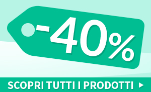 Ultimi pezzi Outlet 40%