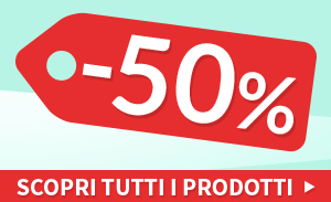 Ultimi pezzi Outlet 50%
