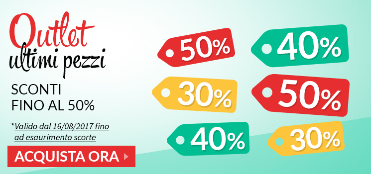 Outlet Ultimi Pezzi